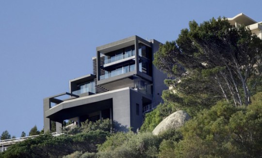 Sloping Lot Home Design in South Africa contemporary coastal house plans south africa 1 Sloping Lot Home Design in  South Africa