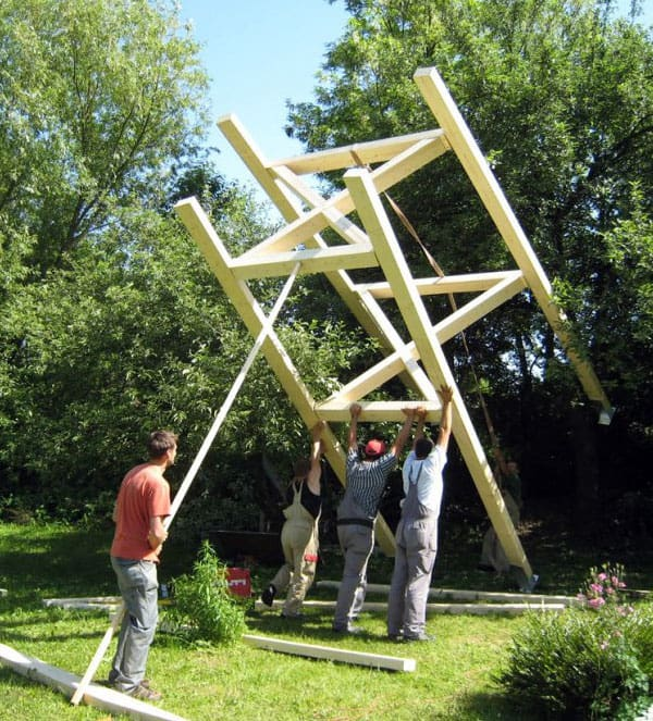 Free Standing Tree House How To Build Pictures