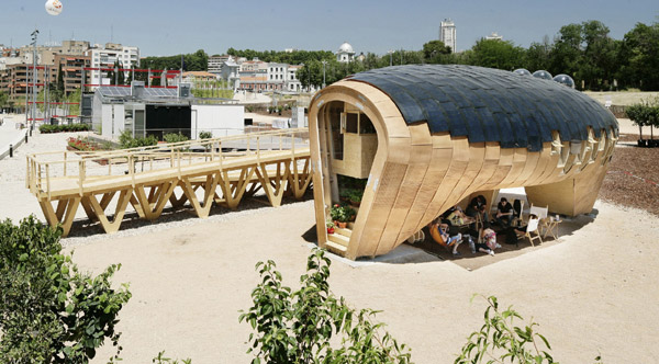 Energy Producing Homes House by IAAC Fab Lab House