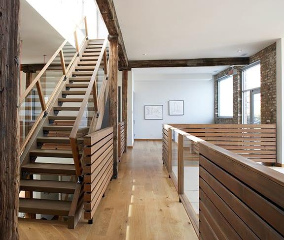 Triangular Shaped House Plan With Three Story Atrium