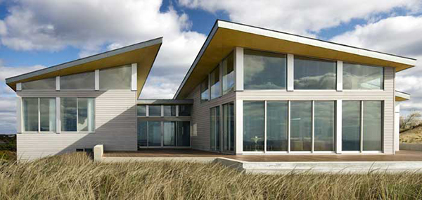 Modern Beach House On Cape Cod In Truro MA Sustainable