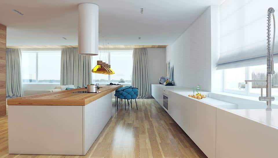 Kitchen Design Without Upper Cabinets Everdayentropycom