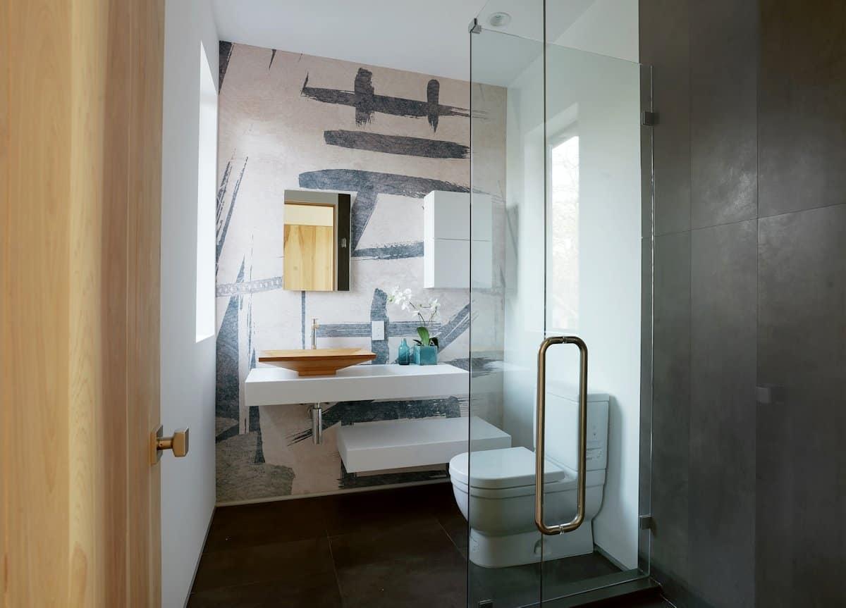 10 Modern Small Bathroom Ideas for Dramatic Design or ... on Bathroom Ideas Modern Small  id=99149