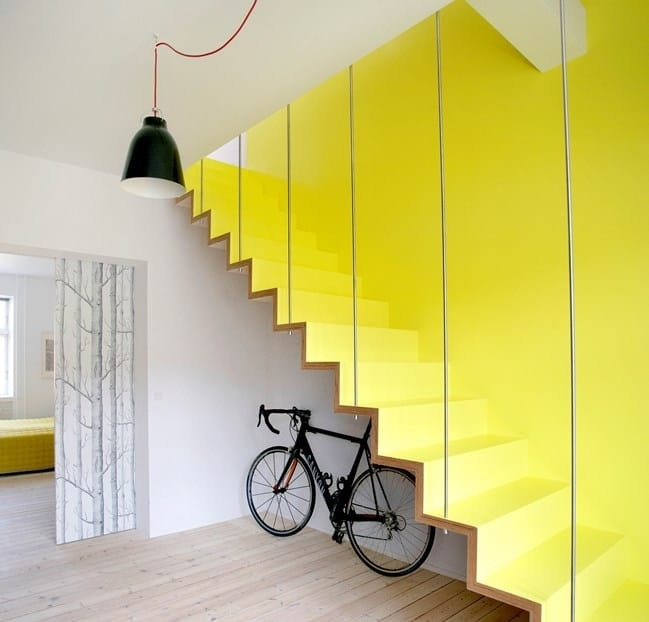 Colorful Staircase Designs 30 Ideas To Consider For A Modern Home | Designs For Staircase Wall | Stairwell | Stylish | Luxury | Painting | Stone