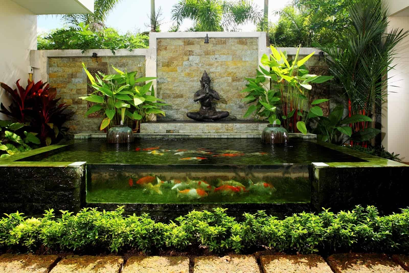 Koi Pond Decorations