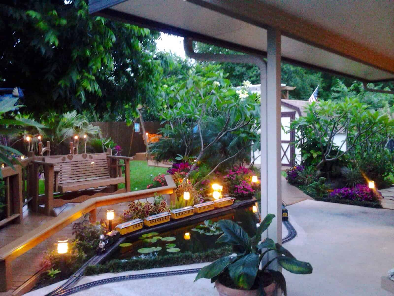 35 Sublime Koi Pond Designs and Water Garden Ideas for ... on Backyard Koi Pond Designs  id=57827