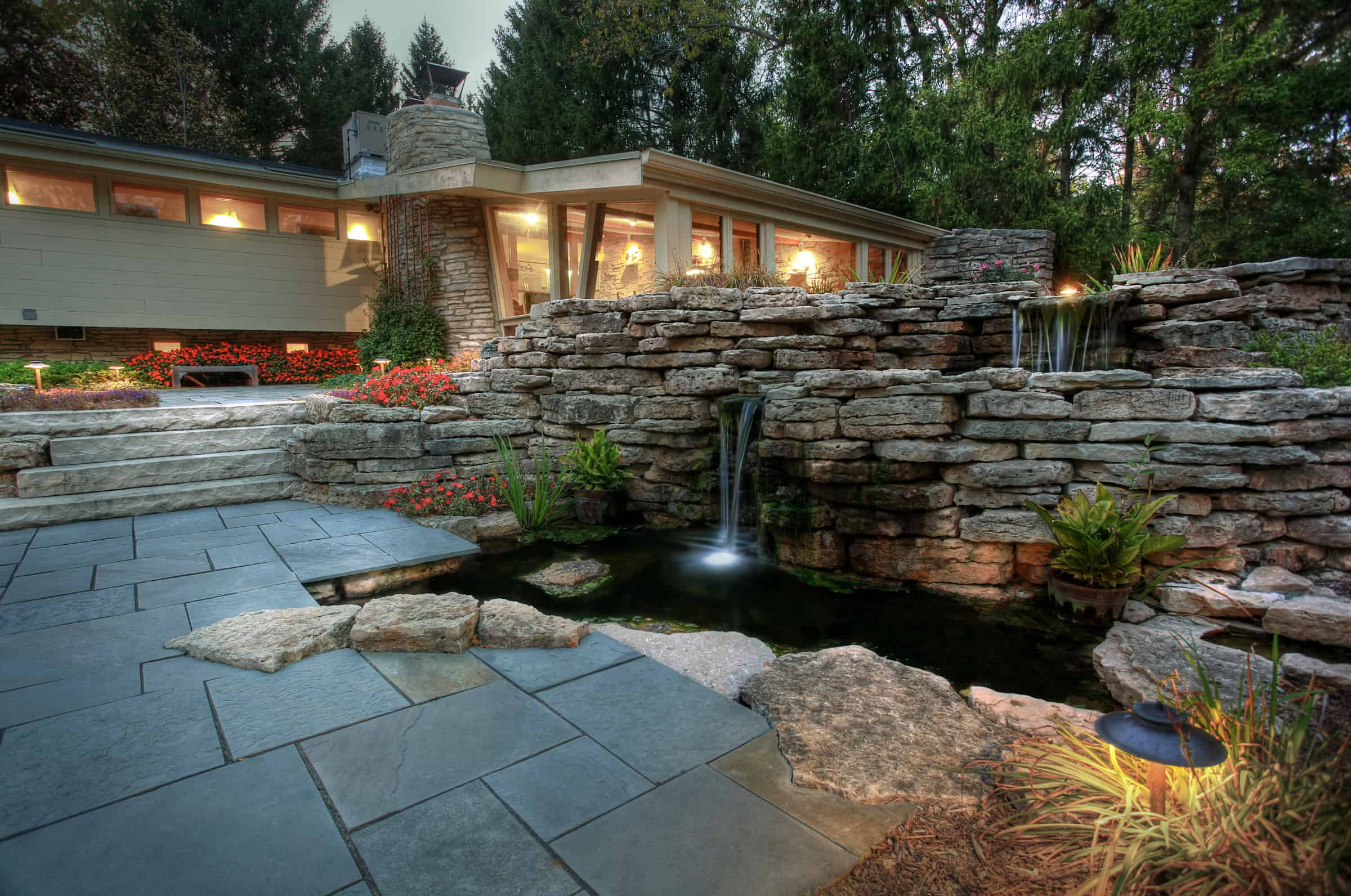35 Sublime Koi Pond Designs and Water Garden Ideas for ... on Koi Ponds Ideas  id=78605
