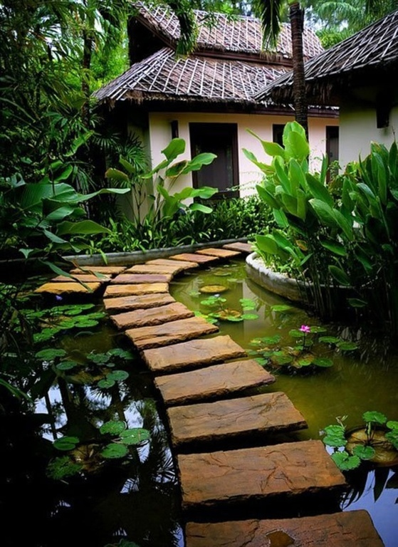 35 Sublime Koi Pond Designs and Water Garden Ideas for ... on Koi Ponds Ideas  id=99753
