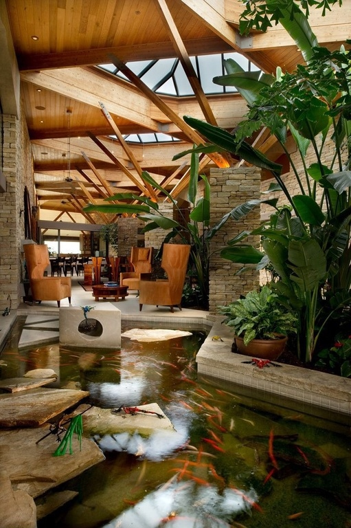 35 Sublime Koi Pond Designs and Water Garden Ideas for ... on Koi Ponds Ideas  id=23059