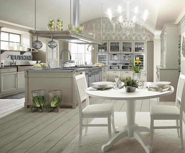 Farmhouse Style Kitchen Interior by Minacciolo - English Mood