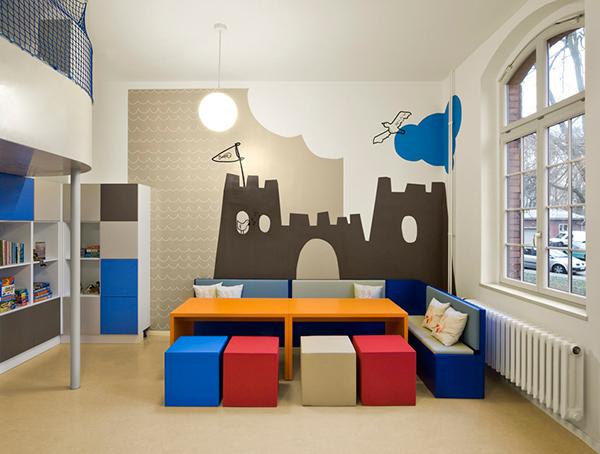 Fun Kids Room Designs By Dan Pearlman