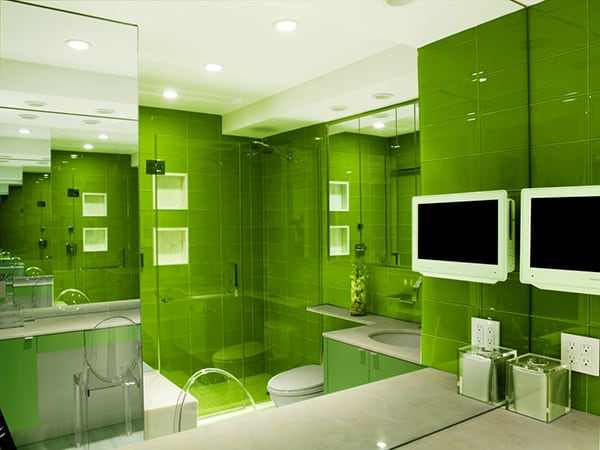 Monochromatic Bathroom Design on Monochromatic Bathroom Ideas  id=67863