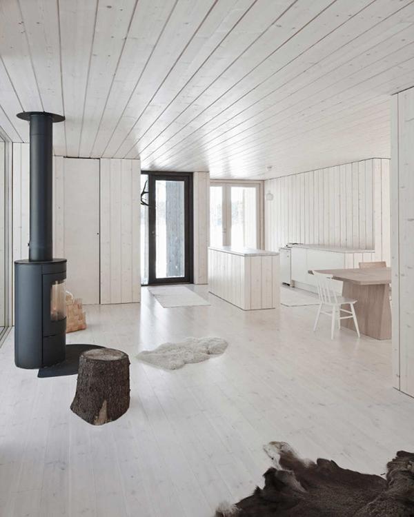 White Rustic Interior Design Cottage Style Decor