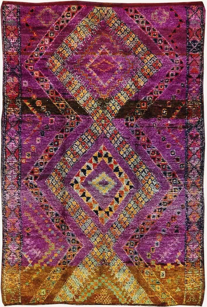 vintage-tribal-Moroccan-rug-azilal-tribe.jpg (708×1050)