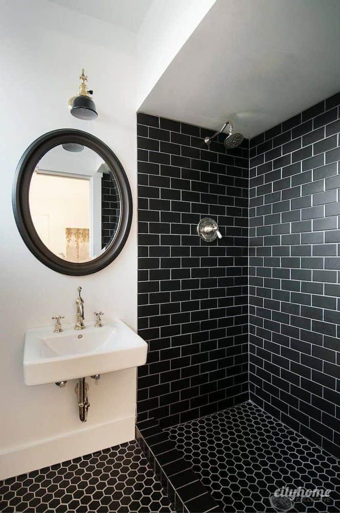 Top 10 Tile Design Ideas for a Modern Bathroom for 2015 on Monochromatic Bathroom Ideas  id=50971
