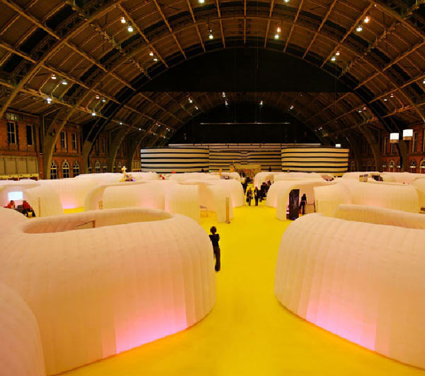 Inflatable Room Mobile Office In A Bag By Ibebi