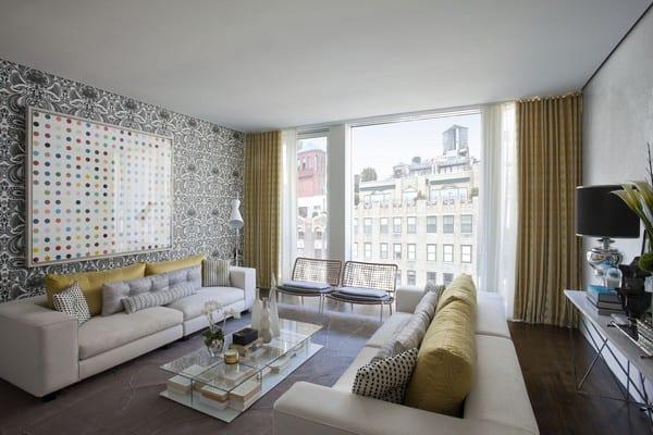 Unique Wallpaper Ideas Apartment In New York