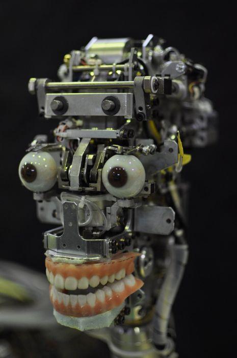 Şarkı Söyleyen Robot - Geminoid F)
