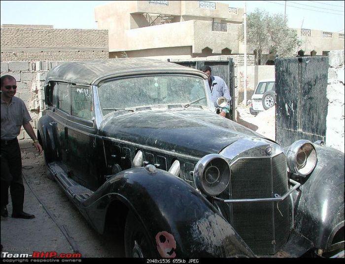 Uday Hüseyin'in Araba Kolleksiyonu(19 Fotograf)