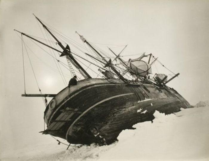 Ernest Shackleton Antartika Macerası (75 Fotograf)