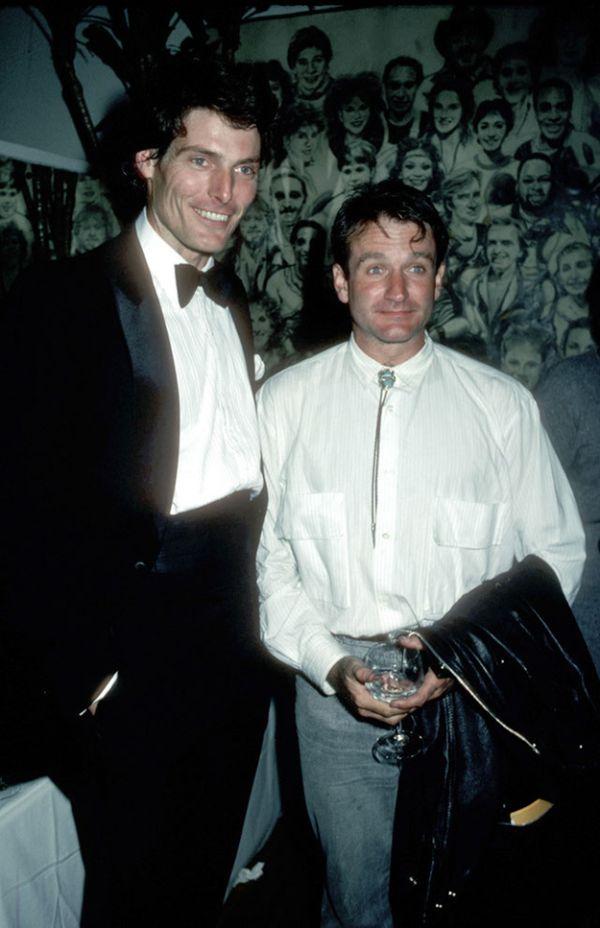 Gerçek Dostluk - Robin Williams ve Christopher Reeve (13 fotograf)