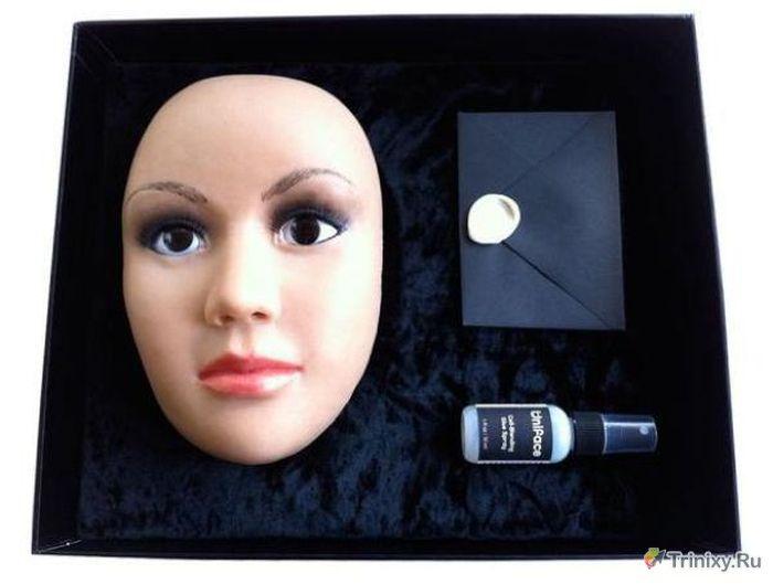 Kızlar İçin Slikon Yüz Maskesi (11 Fotograf)