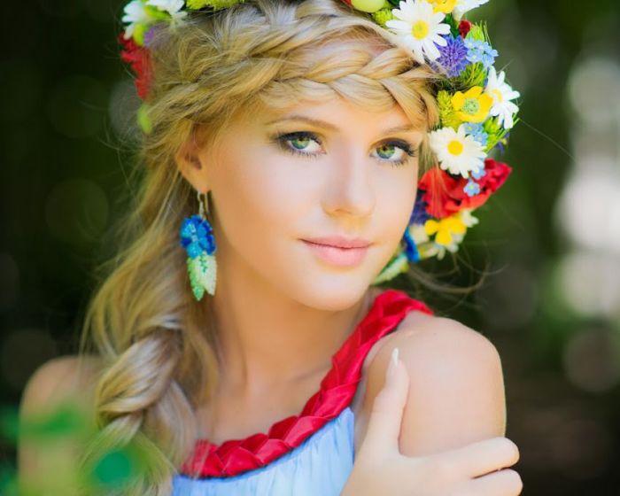 Doğal Güzellikleriyle Rus Slav Kızlar (40 Fotograf)