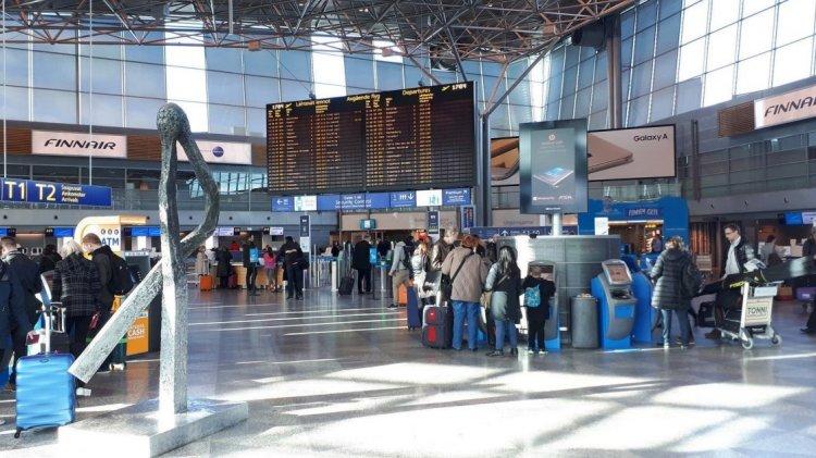 Аэропорт Helsinki-Vantaa