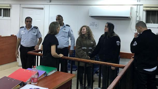 Apel izraelskoj ambasadi: Ahed je dijete, umjesto nje uhapsite mene