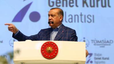 Staatspräsident Erdoğan: 'Türkei kann eines Nachts aufmarschieren'