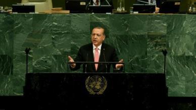 Rede von Erdoğan vor UN-Vollversammlung