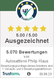 Trustami Vertrauenssiegel von Philip Klaus Autosattlerei und Großhandel
