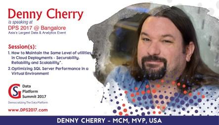 Denny is presenting a precon session in India