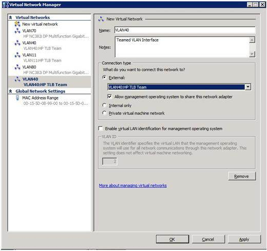 The Virtual Network Manager