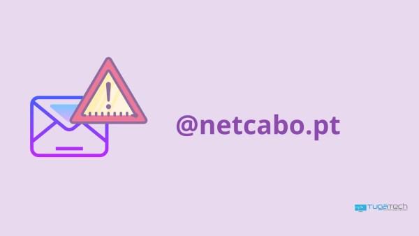 Netcabo email em baixo