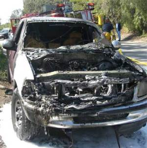 What To Do If Your Car Catches On Fire   Tundra Headquarters Blog