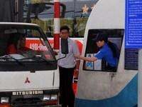 Nhiều lực lượng bảo vệ trạm BOT Biên Hòa thu phí trở lại