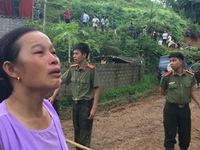 Hiện trường vụ sạt lở vùi lấp 18 người ở Hòa Bình