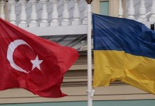 Turkey - Ukraine Flag