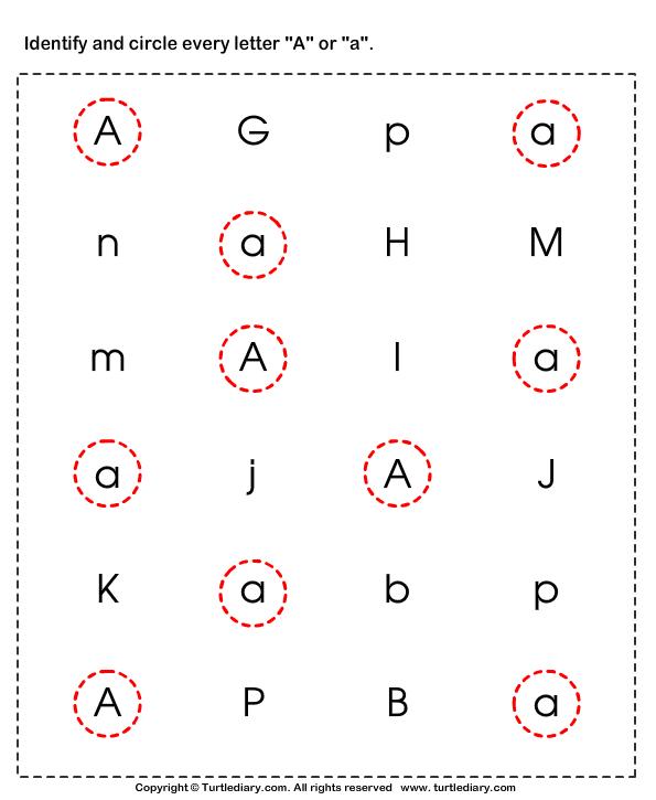Worksheets Letter V Lowercase