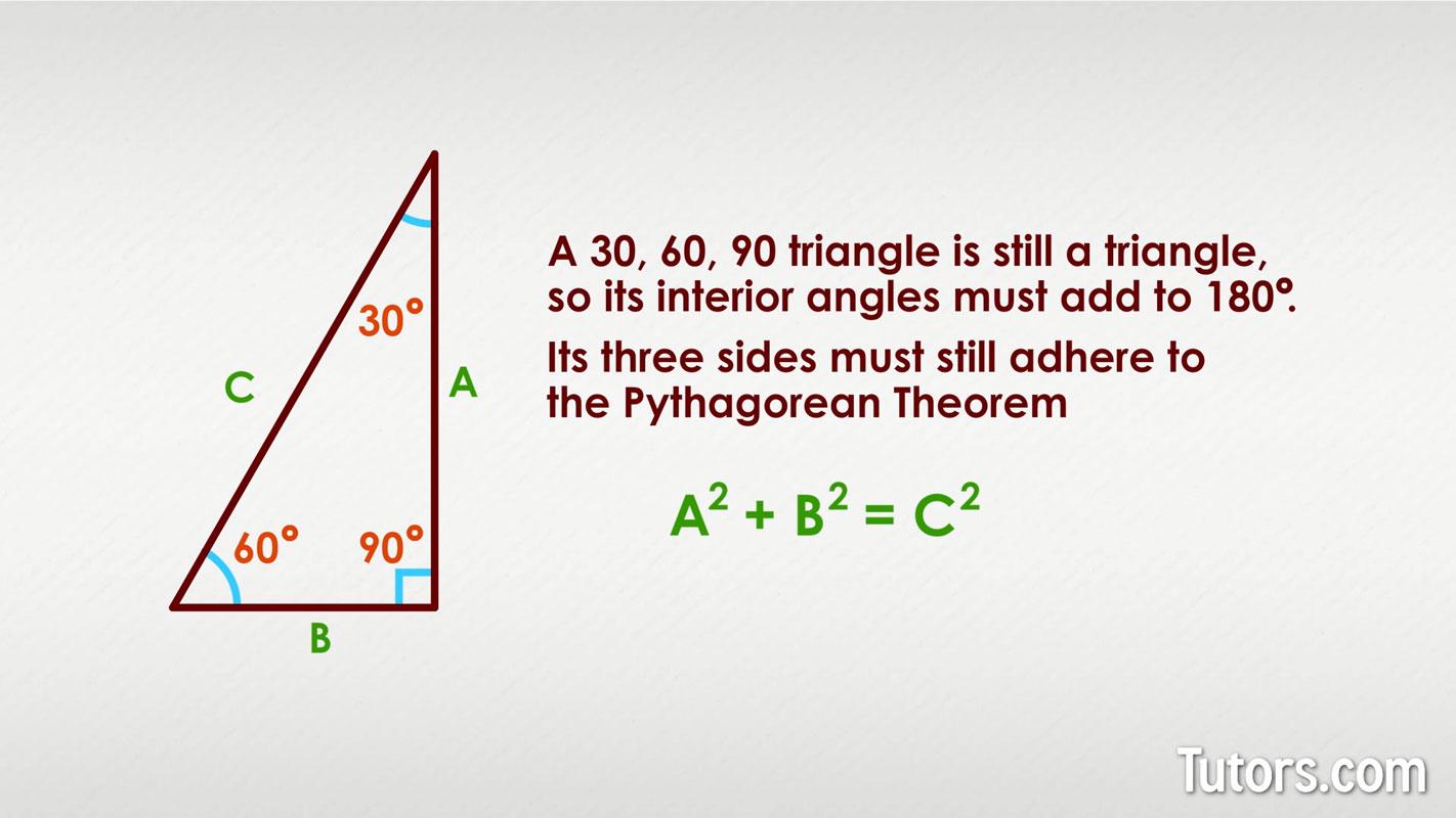 30 60 90 Triangle