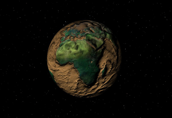 Planet Earth Surface Textures