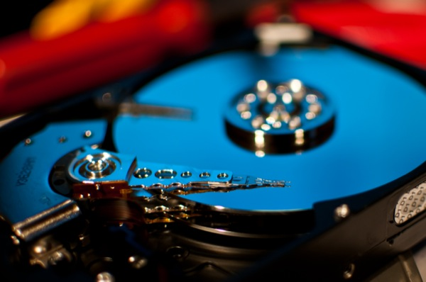 The hard disk
