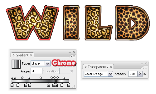 Animal Print Letters Font