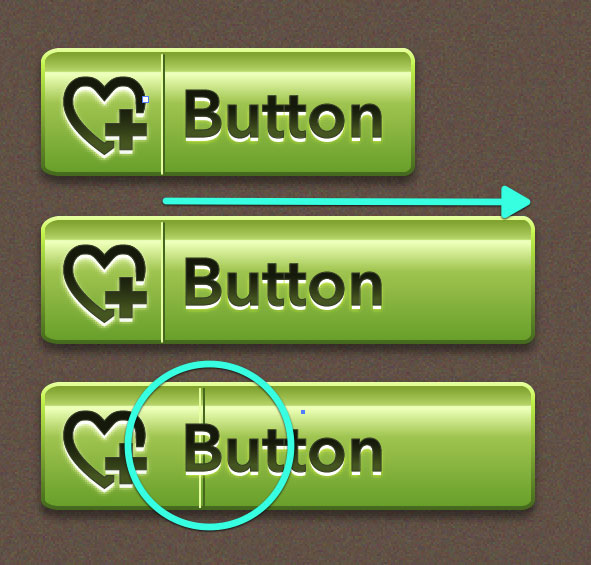 Quick Tip: How to Make an Ultra Glossy Scalable Web Button ...