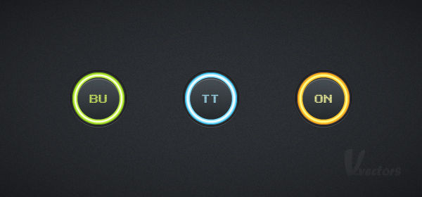Quick Tip: Create a Set of Glowing Buttons in Adobe ...