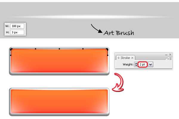 Quick Tip: Create Bright Web Buttons using the 3D Options ...