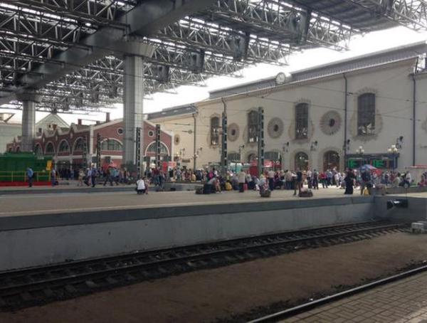 Причиной хлопка на Казанском вокзале стала сумка ...