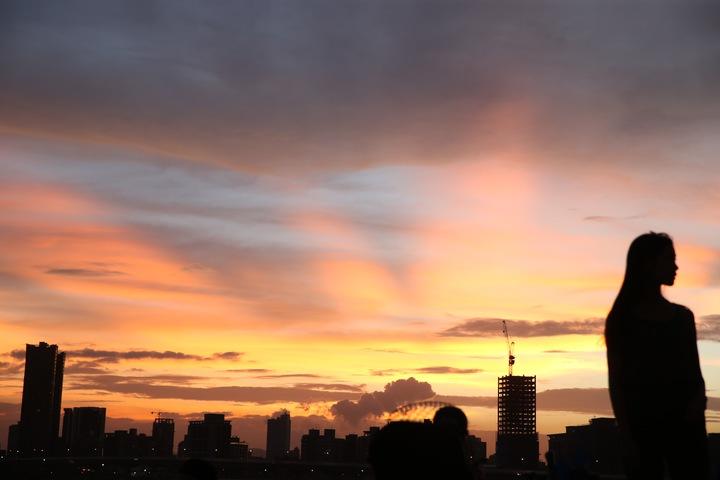 風雨欲來 臺北天空烏雲靠近   生活   聯合影音