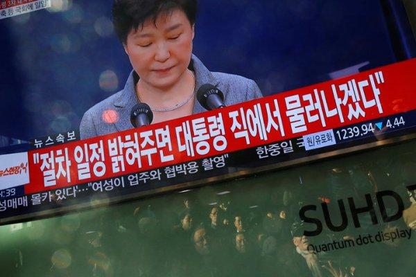 朴槿惠的談話 讓執政黨對彈劾縮手 | 國際 | 聯合影音